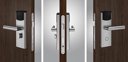 Türbeschlag - Sicherheitsbeschlag - Sicherheitszylinder - Einbruchschutz - SMARTKEY
