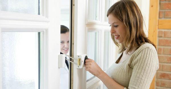 Zusatzschloss für Türen und Fenster - SMARTKEY