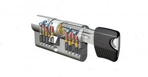 Smartkey-Winkhaus key Tec RPE Sicherheits-Zylinder